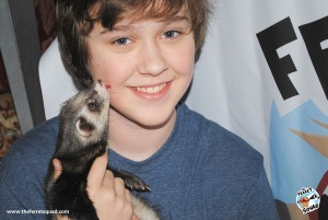 Connor Stanhope plays Max in The Ferret Squad