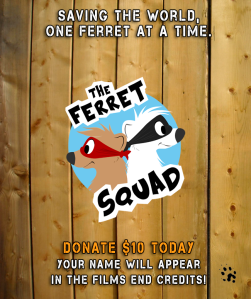 Donate to The Ferret Squad today!